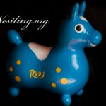 Sitz- und Hüpfpferdchen Rody