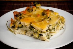 Grüne Lasagne
