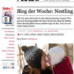 Nestling ist Blog der Woche auf NIDO.DE