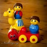 Lego Primo Spieluhr und Bausteine