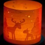 Haba Adventskalender und Haba Windlicht Winterwald